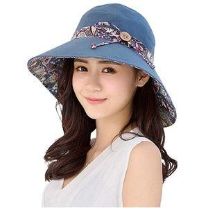 Womens Sun Hat Summer  UV Protection Beach  Hat